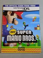 New Super Mario Bros DS Nintendo Players Power Strategy Guide Authentic Official