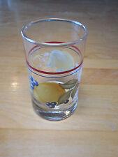 Corelle Glassware ABUNDANCE Set of 4 Tumblers 6 oz 4 in Juice