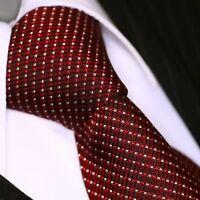 BINDER de LUXE KRAWATTE tie slips corbata cravatte Dassen Krawatten 522 Bordeaux