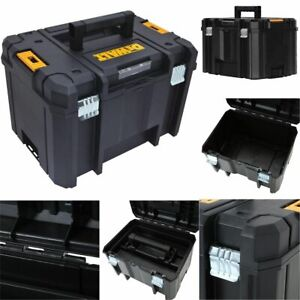 17 INCH STACKABLE DEEP TOOL STORAGE BOX TSTAK VI Heavy Duty Anti-Rust Organizer
