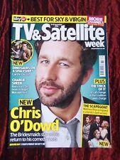 TV & SATELLITE WEEK UK MAGAZINE-8-14 SEPT 2012  -  CHRIS O'DOWD  - DOCTOR WHO
