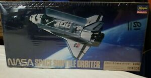 1988 HASEGAWA #MM16 NASA SPACE SHUTTLE ORBITER - 1/200 SCALE KIT - NEW / SEALED