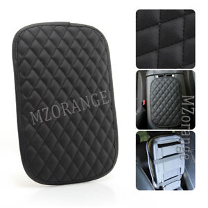 Universal Car Armrest Cushion Cover Center Console Pad Protector Accessories PU