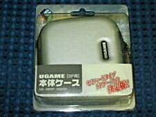 Game Boy Advance SP GBASP Console System Semi Hard Type Case Double Zipper JAPAN