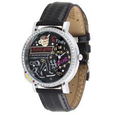 Reloj MINI WATCH 3D ref. MN1054 Mujer caja acero cuero negro