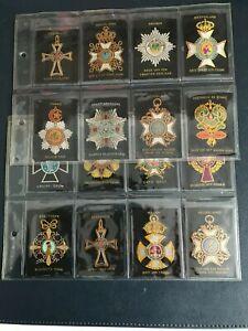 cigarette cards military ( silks ) 20 1900s