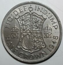 British Half Crown Coin, 1948 - KM# 866 Great Britain UK King George VI One 1/2