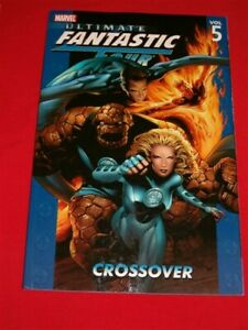 ULTIMATE FANTASTIC FOUR 5 MARVEL TPB COMIC 21-26 ZOMBIES CROSSOVER 2006 NM NEW!