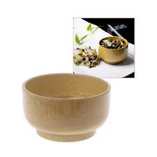 Natual Wood Bamboo Round Sala Bowl Kitchen Handmade Children Fruit Rice Bowl