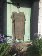 Rabens Saloner Khaki Green Dress Size Large