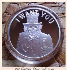 Silver Shield SLAVE UNCLE 1oz .999 Silver PROOF Coin sbss COA
