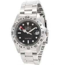Invicta 9401 Men's Pro Diver GMT Steel Black Dial Dive Watch