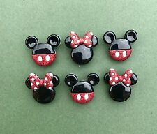 Mickey Mouse Buttons Minnie Mouse Ears - Disney Mickey Mouse Head - Party Favor