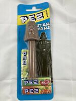 Rare Vintage PEZ Dispenser Star Wars Chewbacca New In Box With Candy