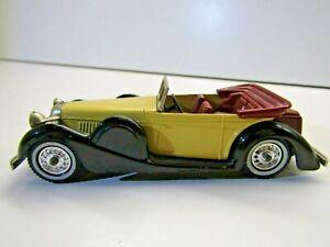 Matchbox Models of Yesteryear Y-11 1938 Lagonda Black / Yellow Die Cast Model