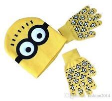 Infantil Minions gorro y guantes antideslizantes Set