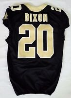 #20 Brian Dixon of New Orleans Saints NFL Game Issued Locker Room Jersey