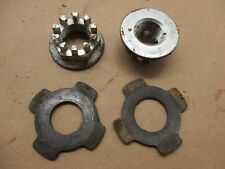 2007 Suzuki King Quad 700 (6839) 1 front axle nut and 1 rear axle nut / castle n