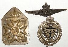 lot 3 insignes militaires a identifier (97) J
