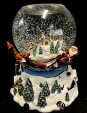 Partylite~P7922 Olde World Village Tealight Musical Globe in Box