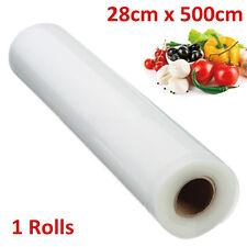 28cm X 500 Vacuum Bags Film Roll Kitchen Vacuum Food Sealer Rolls Foodsaver  PM