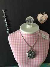 Brighton EDEN'S GARDEN Necklace Bracelet Earrings NWT Set & GIFT BOX $164