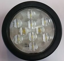 "Clear - 4"" Round Sealed LED Lights with Grommet & Plug LIFETIME WARRANTY-BUL11CB"