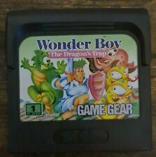 Sega Game Gear - Wonder Boy - The Dragon´s Trap