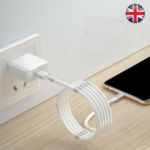 Self Winding USB Cable Charging Micro Type C iPhone Nano Samsung SuperCalla