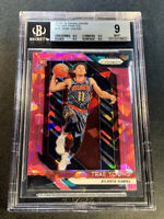 TRAE YOUNG 2018 PANINI PRIZM #78 PINK ICE REFRACTOR ROOKIE BGS 9 W/ 3 9.5 SUBS