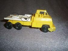 531B Antique Jouet Bazar Plastique Camion Grue TP L 10 CM