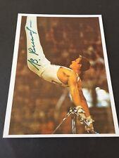 VIKTOR KLIMENKO  Olympiasieger 1972 Turnen signed Foto 10x14