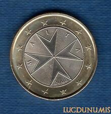 Malte 2008 1 Euro SUP SPL Pièce neuve de rouleau - Malta