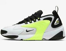 ⚫ 2020 Genuine Nike Zoom 2K ®  ( Men Sizes UK: 8 - 12 ) White Black Volt Lime