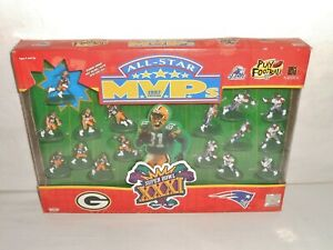 New Galoob Super Bowl XXXI 1997 All -Star MVP Packers and Patriots NFL Figures