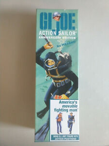 G.I.JOE TIMELESS 40TH Anniversary Action SAILOR! Blonde Hair - Cloth Hat - Mint