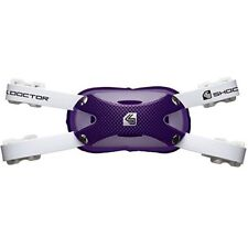 New Shock Doctor Power Carbon Football/lacrosse Chin Cup Adult L/XL purple