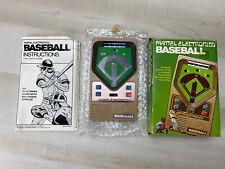 New ListingMattel Baseball Pocket Electronic Handheld Vtg Game 1978 Complete In Box W/ Man.