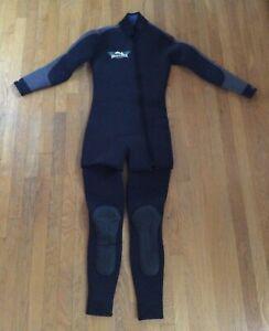 NEW Harveys Womens 7 mm Dri-Flex SCUBA Diving Wetsuit 2-piece Small Farmer Jane