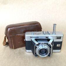 Voigtlander Vitessa Rangefinder Camera W/ Voigtlander 50mm 1:3.5 Lens & Case