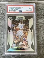 Zion Williamson 2019 Panini Silver Prizm DP 1 RC Rookie PSA 9 Mint