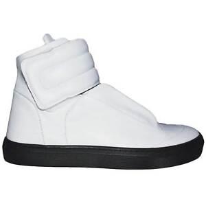 Sneakers mister unica art:PU010 vera pelle made in italy strappo e lacci interni