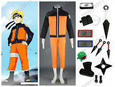 Naruto Uzumaki Naruto 2nd Cosplay Costume Set