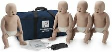 Prestan AED CPR Training Manikins 4 Pack INFANT Medium Skin PP-IM-400-MS