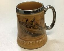 Vintage 1960s SS Australis Chandris Lines Lord Nelson Ware Ceramic Tankard