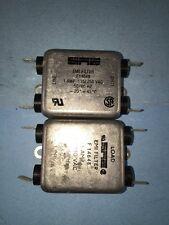 SAE F14648 EMI Filter 115/250VAC 1A 50-60HZ Lot Of 2