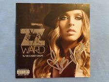 ZZ Ward Signed Autographed CD Cover/Jacket C