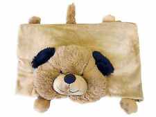 Puppy Dog Soft Kids Snuggle Blanket with Pillow Toy Pet NEW Toys Soft Cuddly Rug