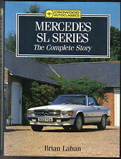 Mercedes SL Series Complete Story by Laban 300SL Gullwing 190SL Pagoda Crowood