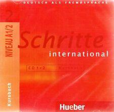 Hueber SCHRITTE INTERNATIONAL 2 CD's zum Kursbuch Niveau A1/2 @NEW & SEALED@